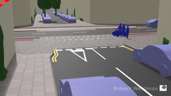 D6: From minor street