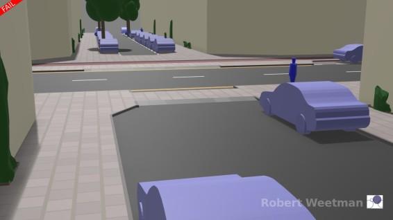 D4: From minor street